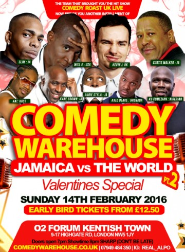 Jamaica Vs The World Pt2 – Vallentines Special