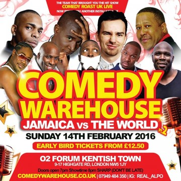Comedy WareHouse Jamaica Vs The WORLD pt2