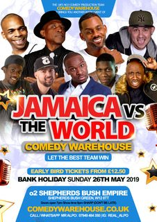 Jamaica Vs The WORLD 2019