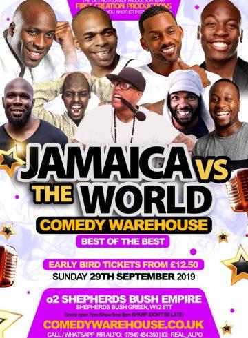 Jamaica Vs The WORLD 2019